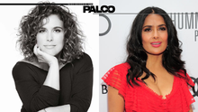 Dos mexicanas al Paseo de la Fama en Hollywood