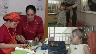 La encomiable labor de un centro que ayuda a los padres con hijos que tienen síndrome de Down