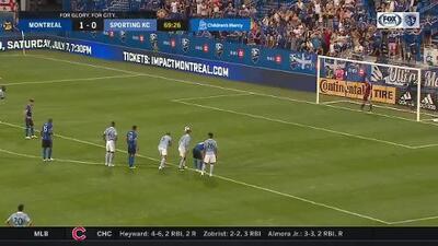 Con increíble cobro de penal el uruguayo Alejandro Silva perfora las redes, Montreal 2-0 Sporting KC
