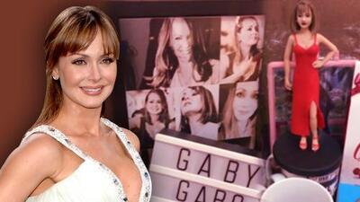 Gaby Spanic necesitará una maleta extra para cargar con todo lo que le regalaron en Brasil