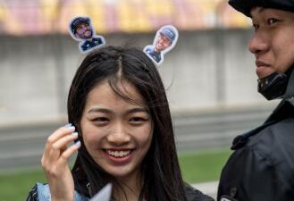 La fiebre de los fanáticos de la Fórmula 1 se prendió con el Gran Premio de China