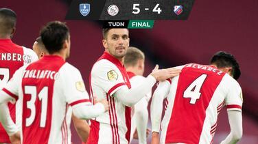 ¡De locura! Ajax y Edson Álvarez eliminan al Utrecht en Copa