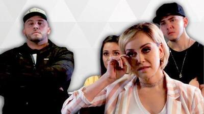 Así fue la reacción de la familia Rivera junto los locutores al ver el video inédito de Jenni por primera vez