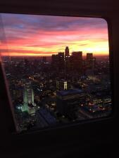 ¡Fotografías desde el cielo! Así se ve Los Ángeles un día despejado