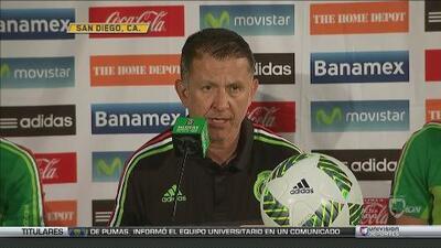 """Juan Osorio: """"Analizando el juego de Chile, México tendrá cambios para el amistoso"""""""