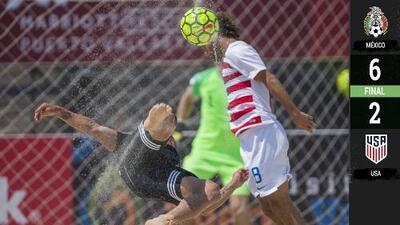 ¡México campeón de Fútbol Playa! El Tri hizo respetar Puerto Vallarta y goleó 6-2 a Estados Unidos