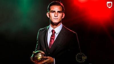 Sebastián Jurado: ganador del Balón de Oro al Mejor Novato