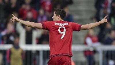 Lewandowski renovó con el Bayern hasta 2023
