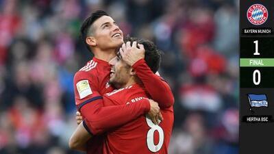 Bayern Munich gana e iguala al Dortmund en la cima de la Bundesliga