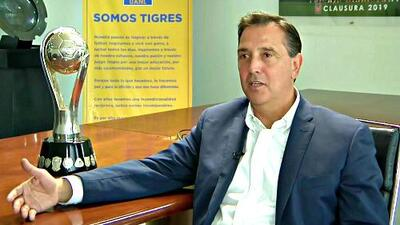 Miguel Ángel Garza quiere un Tigres al 100% tanto en la ida como en la vuelta de la Final