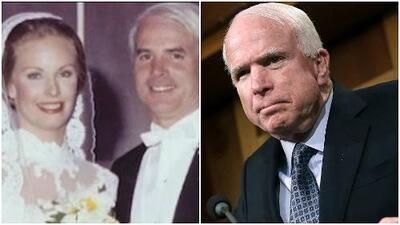 """Esposa de McCain: """"Como familia enfrentaremos este obstáculo juntos"""""""
