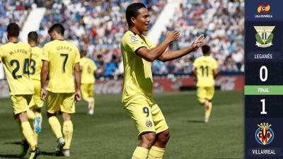 Con Miguel Layún los 90 minutos, Villarreal superó 1-0 al Leganés en La Liga de España