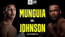 Jaime Munguía se medirá a Tureano Johnson en California