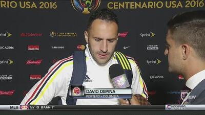 "David Ospina: ""Intentamos, pero no pudimos"""