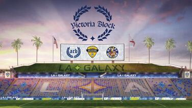¡Todos de pie! Las barras del LA Galaxy serán las inquilinas del peculiar 'Victoria Block'