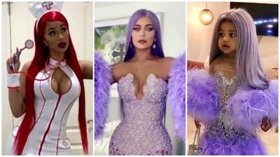 Cardi B, Kylie Jenner y su hija Stormi ya están en modo Halloween: mira los disfraces de estos famosos