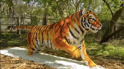 El zoológico de Brookfield cierra su exhibición, 'LEGOS Brick Safari' este domingo