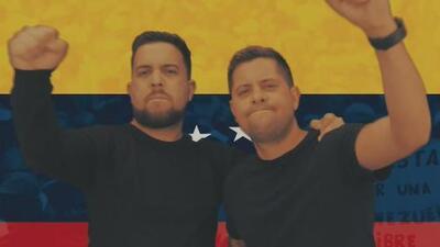 Por medio de la música, los 'Pichy Boys' piden la salida de Nicolás Maduro y una salida a la crisis en Venezuela