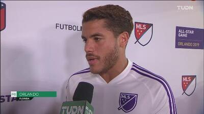 "Jonathan dos Santos: ""Es buenísimo compartir vestuario con leyendas"""