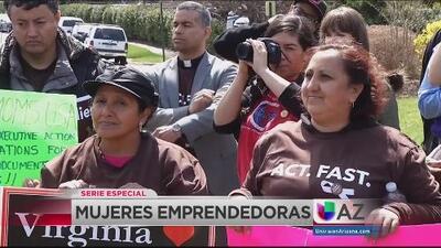 Mujeres luchan por derechos e igualdad de oportunidades