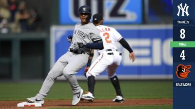 Gleyber Torres y Luke Voit cargan en sus hombros a Yankees y los llevan al triunfo
