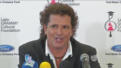 Carlos Vives declaró que Maluma y J Balvin deberían acercarse al vallenato para dar mejor mensaje