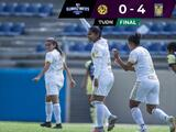 Tigres tiene pie y medio en la Semifinal de la Liga Femenil