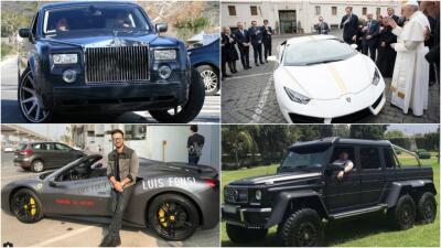 Los famosos y sus carros en 2017