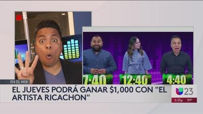 """Gana $1,000 con """"El Artista Ricachon'!"""