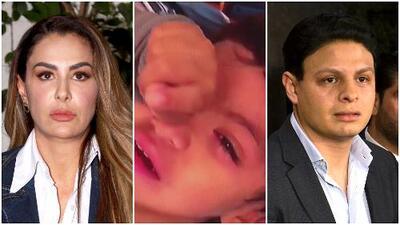 """""""Mostró el llanto de mi hijo"""": Giovanni Medina está echando chispas de rabia por el video que Ninel Conde compartió"""