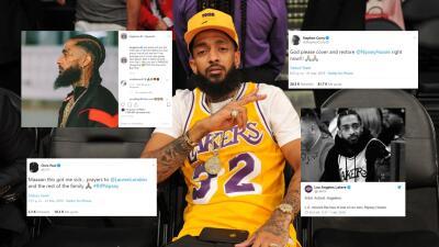 LeBron, Curry, Wade y más estrellas de la NBA expresan condolencias por asesinato de Hussle