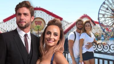 Marimar Vega y Horacio Pancheri disfrutan de su amor en Disneyland