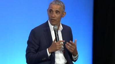 """Barack Obama: """"Si te sientes cómodo con tu sexualidad, no necesitas 8 mujeres haciendo twerking"""""""