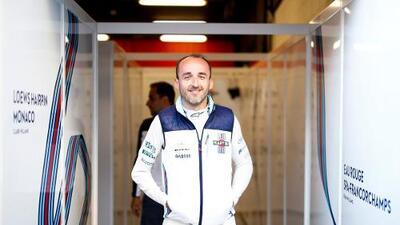 Kubica vuelve a la F1 ocho años después: correrá con Williams en 2019