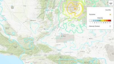 """""""Estamos muy espantados"""": habitante de la ciudad de Ridgecrest, epicentro del terremoto ocurrido en el sur de California"""