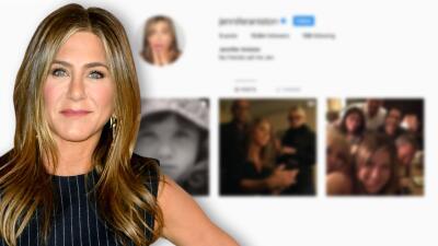 Jennifer Aniston confiesa que ya tenía una cuenta anónima en Instagram que usaba para 'stalkear'