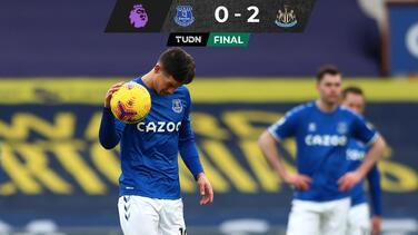 James Rodríguez y Everton dejan escapar puestos europeos