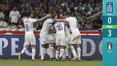 Italia raya en la perfección tras vencer a Grecia rumbo a la Euro 2020