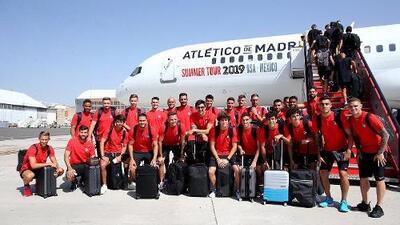 Héctor Herrera y el Atlético viajan a Estados Unidos para la pretemporada