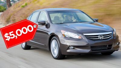 Los mejores carros usados por menos de 5,000 dólares