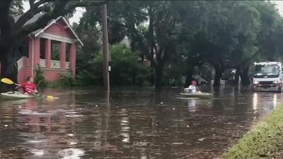 Louisiana, Mississippi y Alabama ya sienten los efectos de Barry, que podría tocar tierra convertido en huracán
