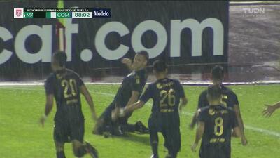¿Quiso centrar o le pegó al arco? Cristian Hernández marcó un golazo tras bañar al portero