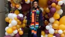 Sus padres fueron deportados y ella terminó sin hogar, pero esta hispana consiguió graduarse en derecho