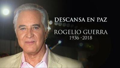 """""""Es una gran pérdida"""": El Gordo y la Flaca lamentan la muerte del actor Rogelio Guerra"""