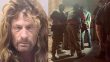 Atrapado entre dos paredes: así encontraron a un hombre que ingresó armado a una escuela de Texas