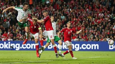Dinamarca 1-1 Irlanda - RESUMEN Y GOLES - Grupo D - Clasificatorio Eurocopa 2020