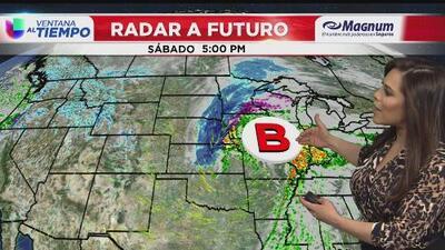 El fin de semana comienza con posibilidades de precipitaciones y vientos intensos en Chicago