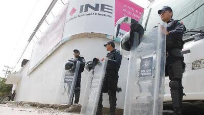 Elecciones militarizadas en México