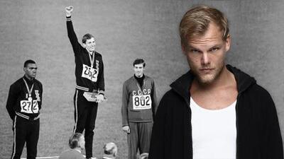 Murió el DJ Avicii; homenajeó a medallista en México 68