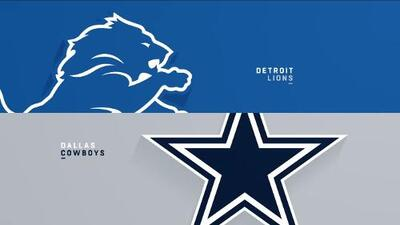 Highlights: Detroit Lions 24-26 Dallas Cowboys | Semana 4